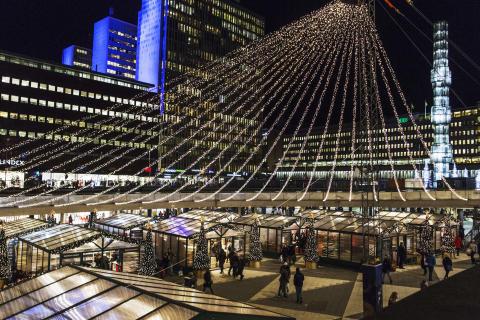 Julsatsning i Stockholm City på väg mot besökarrekord