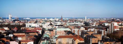 Trygghetskameror på fem nya platser i Malmö
