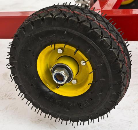 Gipsvagn från Verktygsboden, större hjul