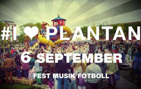 Plantandagen lördag 6 september – en fest för hela Planteringen