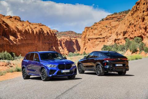 BMW X5 M og BMW X6 M