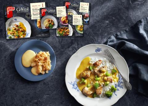 Hälften av Sveriges äldre äter endast en varm måltid om dagen – Findus lanserar GoVital för att möta problematiken