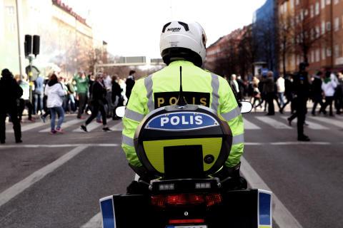 Trafikpoliserna.