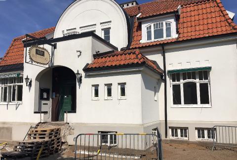 Den anrika Vita Villan i centrala Åstorp blir som ny