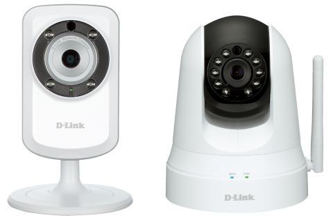 Bild, D-Link DCS-933L och DCS-5020L