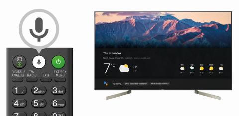Sony annonce l'arrivée  de l'Assistant Google sur  les téléviseurs BRAVIA Android en France