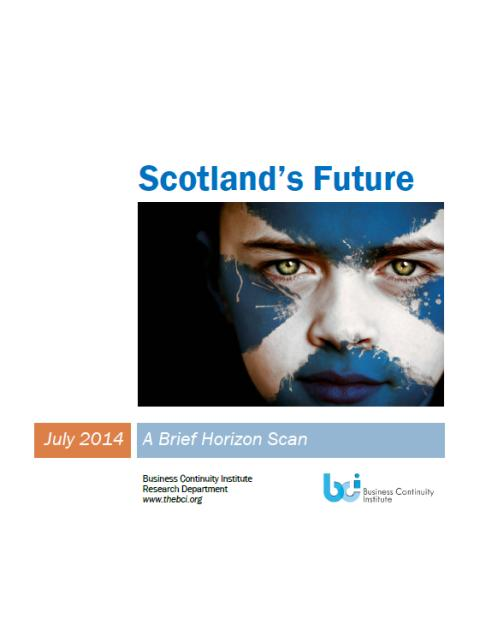 Preparing for Scotland's future challenges