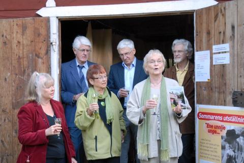 Unikt möte med Astrid Lindgrens brorsdöttrar på Astrid Lindgrens Näs