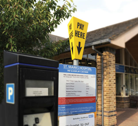 RAC comments on record revenue NHS trusts gain from parking charges
