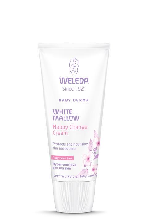 NYHET! Parfymfri och ekologisk blöjkräm från Weleda