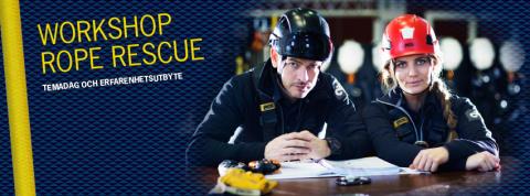 Suicidlarm tema för årets workshop om räddningsinsatser på höjd