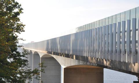 Bulleravskärmning med unika designmöjligheter och oslagbar totalekonomi på Nordic Transport Infrastructure