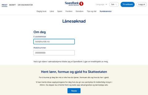 Raskere lånesøknad for alle SpareBank 1-kunder
