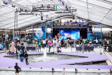 Dammen at Eurovision Village in Stockholm