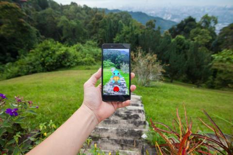 Illustrasjonsfoto: Pokémon-jakt