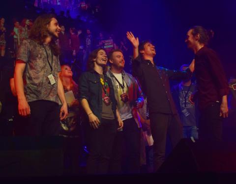 Stockholmsbandet Public Void i Livekarusellen-final