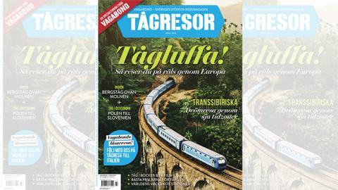 Vagabond släpper ny tidning om tågresor