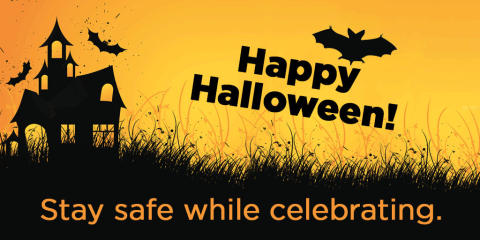 Stay safe Halloween