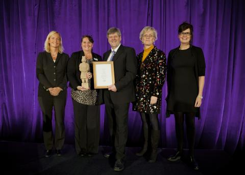 De nominerade till Gabrielsen Award tillsammans med Ansgar Gabrielsen