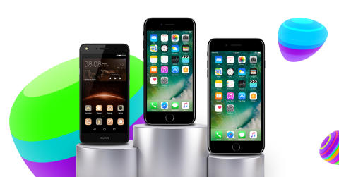 Top 10: De mest solgte mobiler i januar