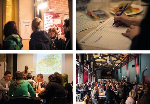 KulturLounge, en utställning om Kulturstrategins dialogarbete
