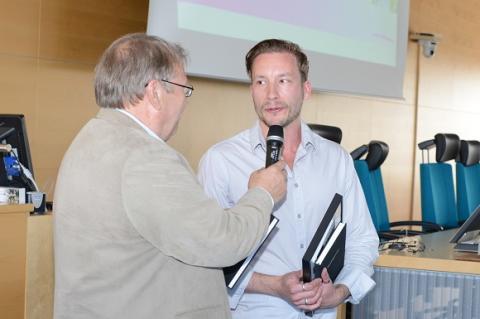Sollentunas mest företagarvänliga politiker 2014 är Douglas Lithborn (m) och Peter Godlund (mp)