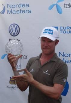 """KONE-golfaren Mikko Ilonens """"flow"""" vann Nordea Masters"""