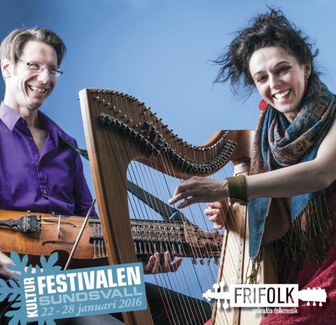 Pressträff: Olov Johansson och Catriona McKay, Club Frifolk