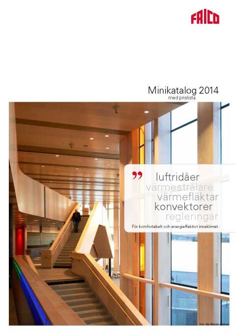 Nu finns Fricos Minikatalog 2014 både i online- och tryckt version