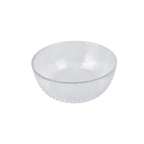 aida - RAW glass beads, skål, klar, D 14 cm, H 6 cm, vejl. pris 59,- DKK
