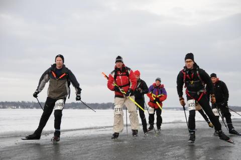 Vikingarännet 2016 - vinterns stora skridskolopp!