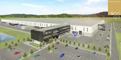 Overview of new facility DSV Canada, Milton, Ontario