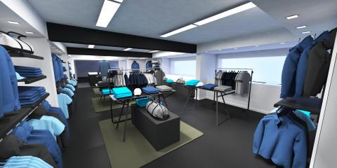 New resort store location in Strömstad