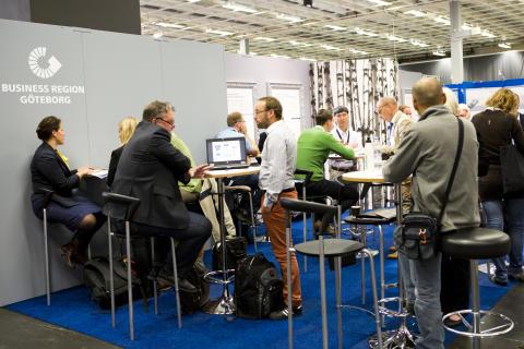 Business Region Göteborgs monter på VA-mässan