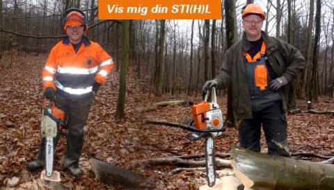 """Stihl lancerer """"Vis mig din STI(H)L"""""""