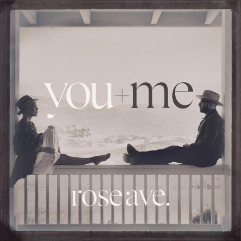 You + Me - albumomslag rose ave.