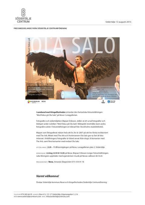 Med fokus på Ola Salo