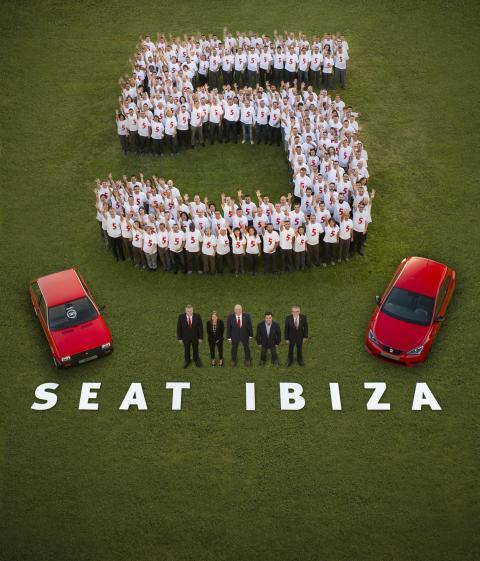 SEAT har rundet 5 millioner Ibizaer