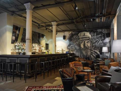 25hours Hotel Company - Altes Hafenamt - The Boilerman Bar