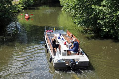 Wassertourismus in Leipzig mit neuen Hop on Hopp off Touren
