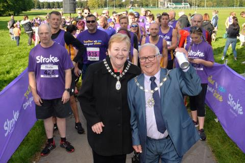 Warrington runners race to fundraising success for the Stroke Association