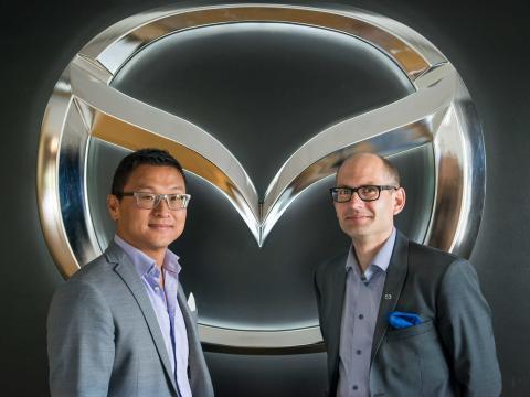Ny försäljningschef på Mazda Motor Sverige