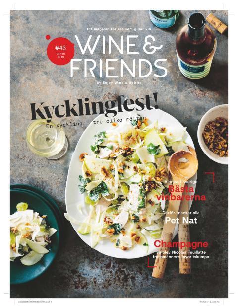 Våren är här -  och det  nya numret av Wine & Friends
