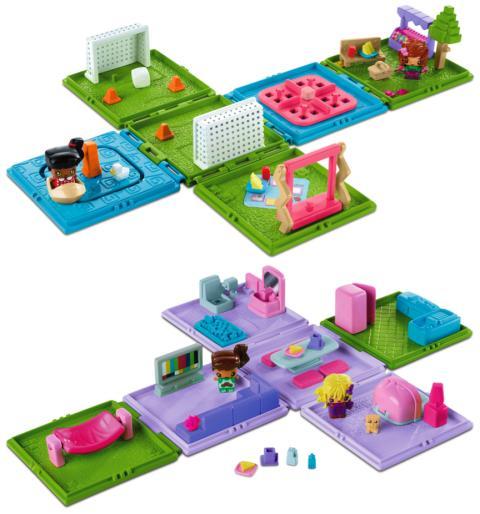 MyMiniMixieQs Basis Spielset Sortiment (Park & Appartment)