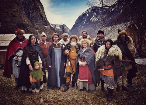 Das Tal der Wikinger erwacht in Fjordnorwegen zum Leben