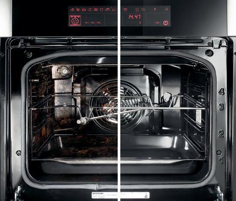 Bruk 3 minutter av din tid og få ren ovn og stekebrett