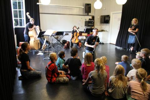 Kulturverkstad med Kulturskolan