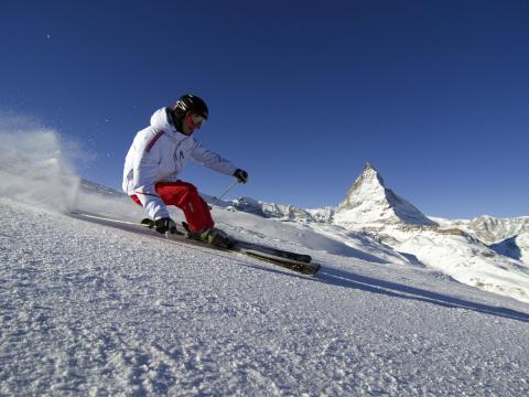 Wo selbst Pausen Höhepunkte sind: Der VIP-Skitag in Zermatt