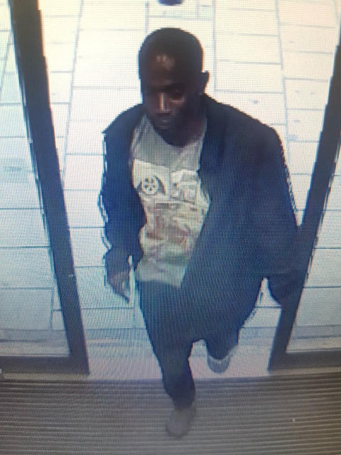 The man police want to identify