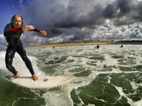 Surf i Hossegor med Xtravel